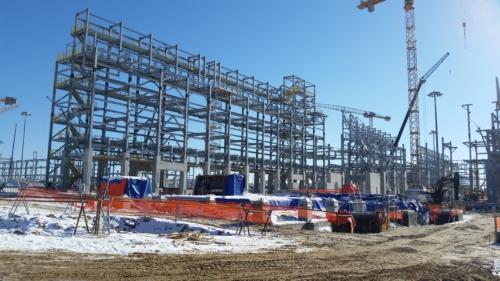 Изготовление и поставка металлоконструкций комплекса переработки УВС в г. Тобольск