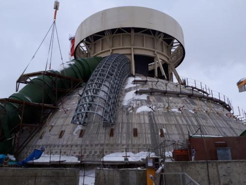 Изготовление и монтаж металлоконструкций Нововоронежской АЭС