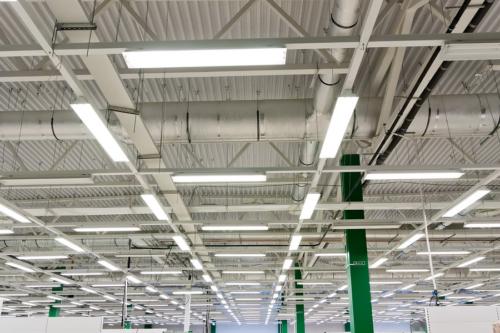 Изготовление и монтаж металлоконструкций гипермаркета Окей