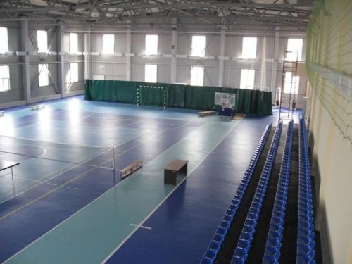 Изготовление и монтаж металлоконструкций спортивного комплекса в г. Торжок