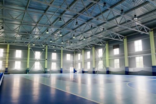 Изготовление и монтаж металлоконструкций спортивного комплекса в г. Волхов