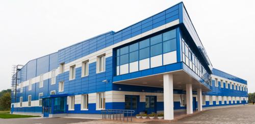 Изготовление и монтаж металлоконструкций спортивного комплекса в г. Пикалёво