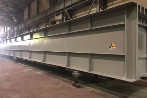Антикоррозийная защита металлоконструкций ЗМК Ленмонтаж