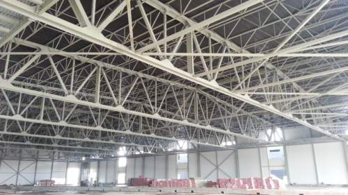 Изготовление, поставка, монтаж металлоконструкций выставочного павильона