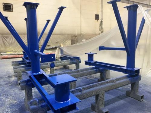 Металлоконструкции для завода Jacobs