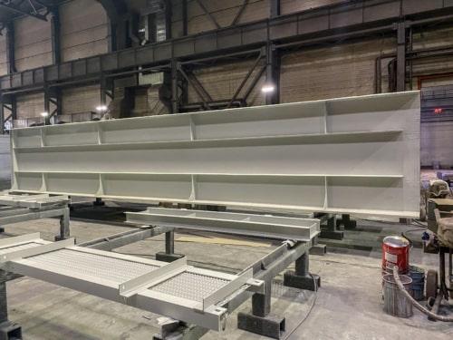 Изготовление металлоконструкций пролетных строений ЖД мостов
