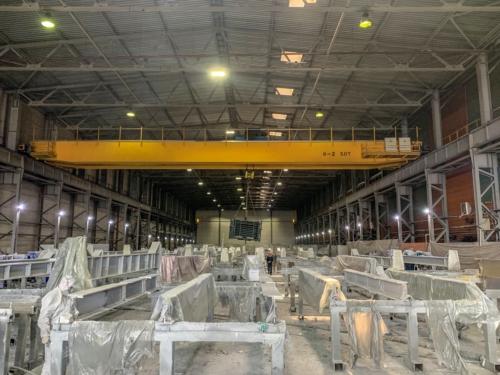 Металлоконструкции на строительную площадку завода Ямал СПГ